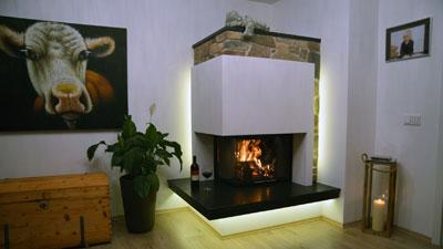 Heizkamin - Ofenbau Koller